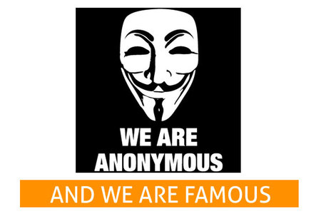 Anonymous - famous heroes