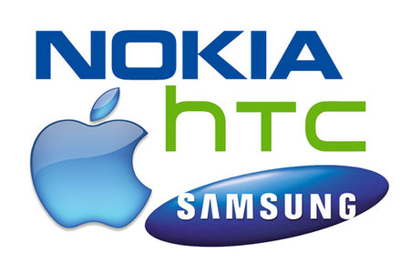 HTC - Samsung - Nokia - Apple